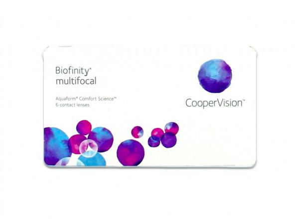 Biofinity Multifokal - D-Linse (1x6)
