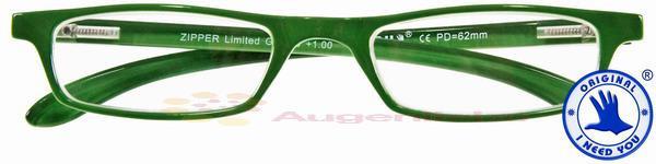Zipper Limited Kunststoffbrille grün