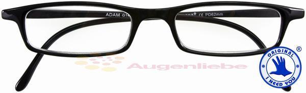 Adam Lesebrille schwarz