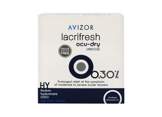 Avizor lacrifresh ocu-dry 0,3% (20x0,4ml)