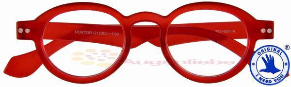 Doktor Limited Panto-Kunststoffbrille rot