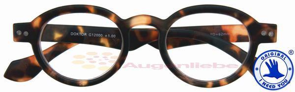 Doktor Panto-Kunststoffbrille havanna