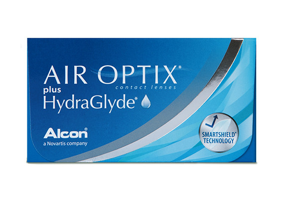Air Optix plus HydraGlyde (1x6)