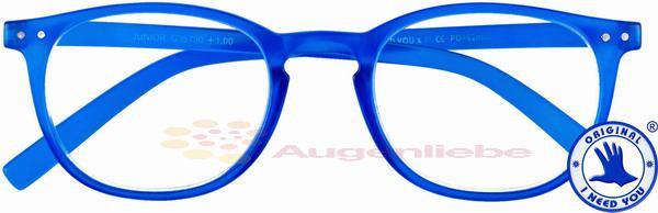 Junior Panto-Kunststoffbrille blau