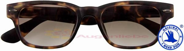 WOODY SUN havanna Kunststoff-Sonnenbrille +02.50 zGhbji