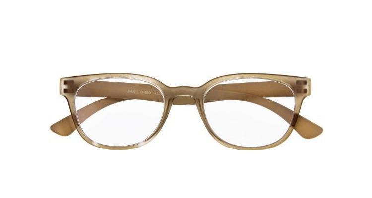 JAMES - Retro-Kunststoffbrille braun | I Need You Brillen ...
