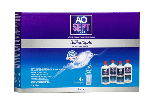 AOSept Plus Hydraglyde (4x360ml)